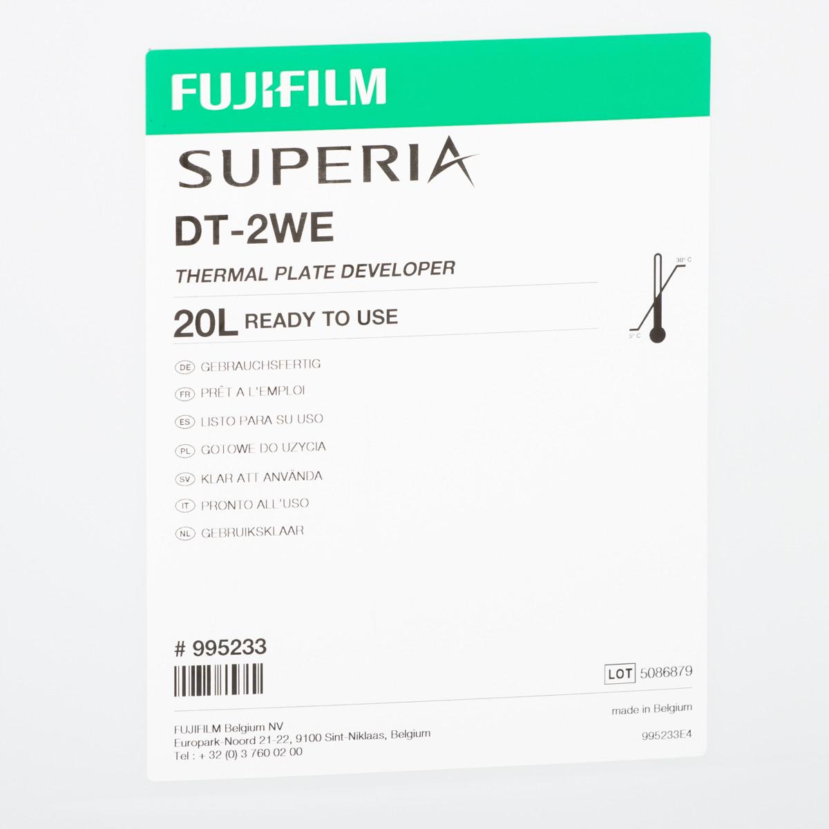 FUJI DT-2WE DEVELOPER RTU 20 lit