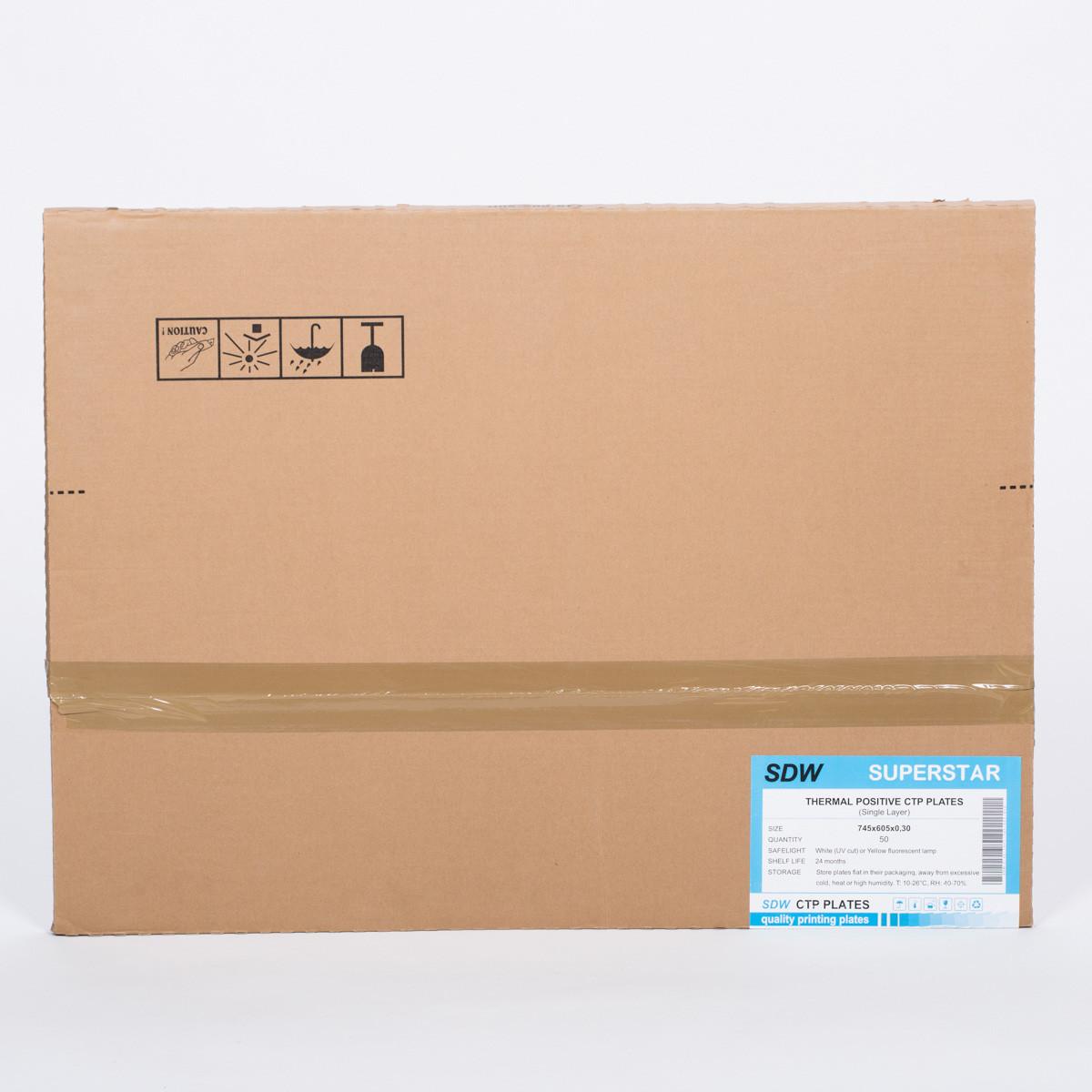 SDW CTP PLATE -single layer 510x400x0,15x100