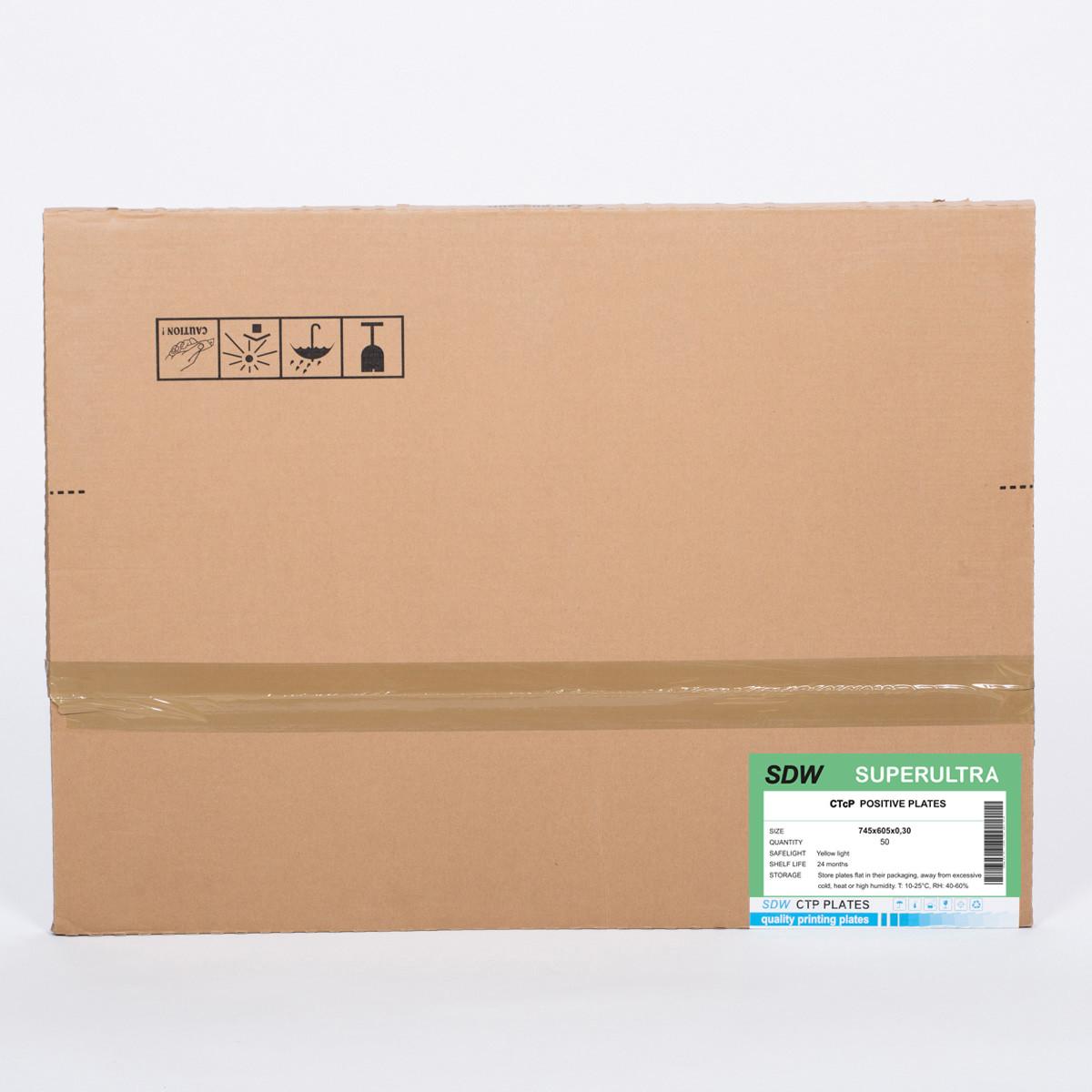 SDW CTCP PLATE -single layer 745x605x0,30x50