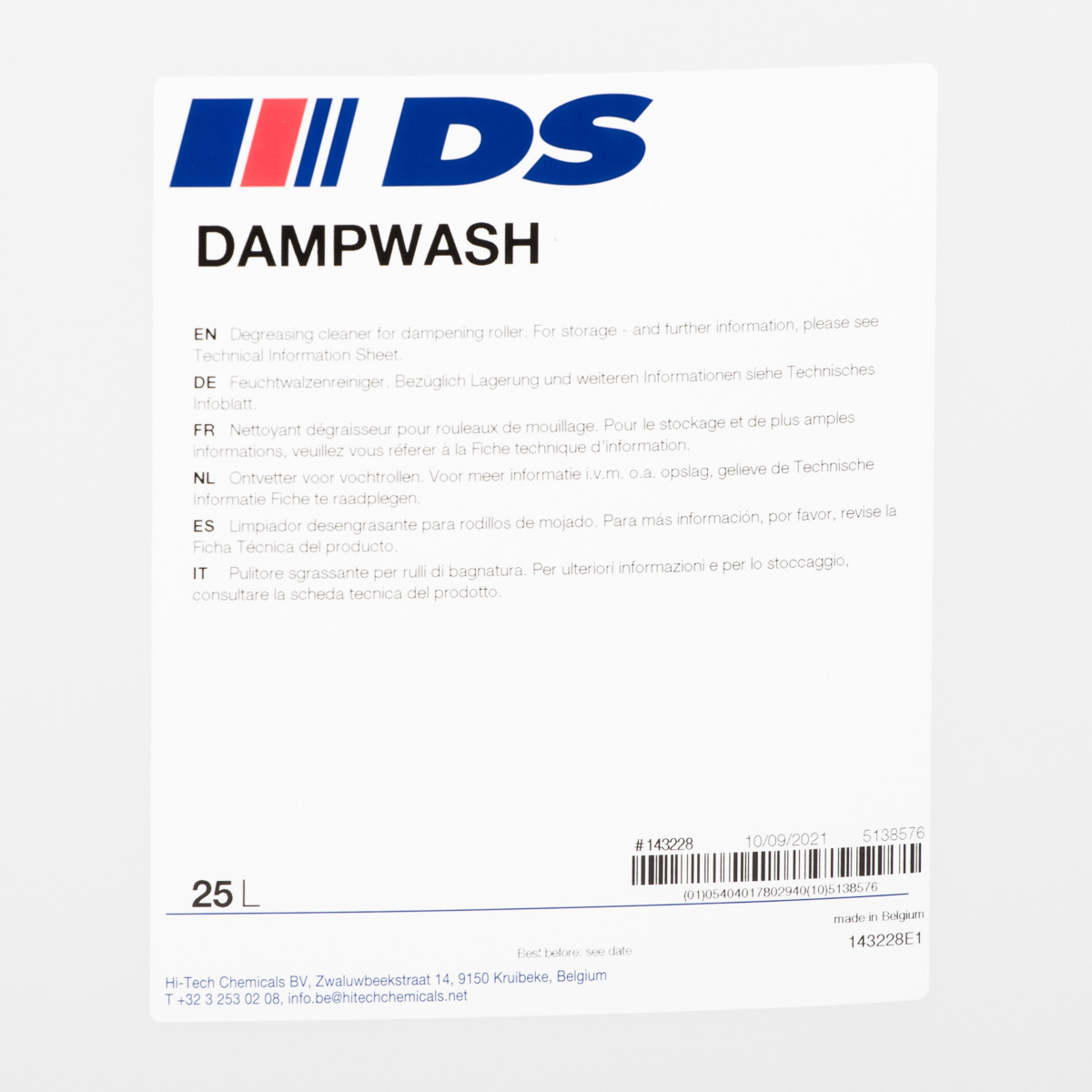 DAMPWASH 25 l
