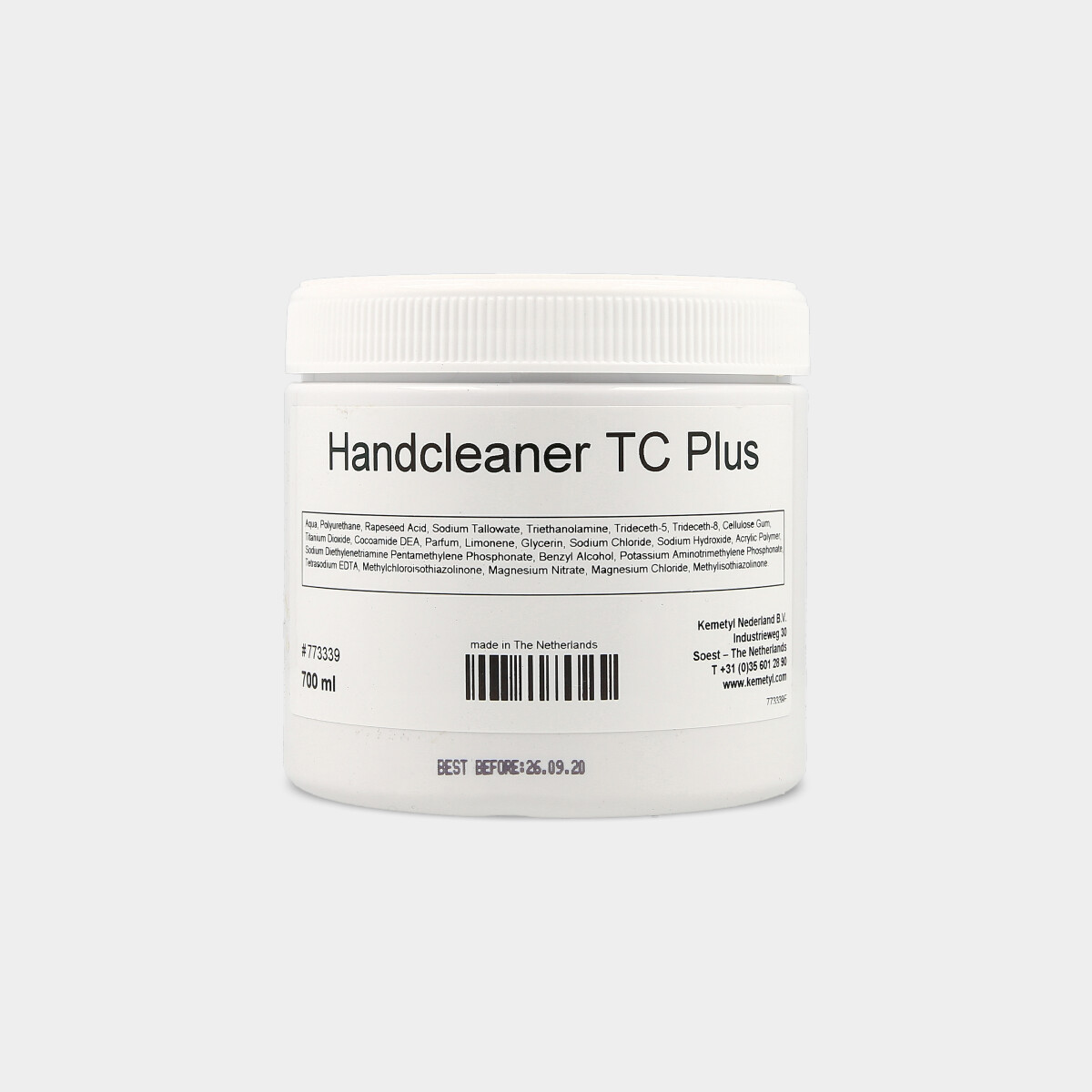 HANDCLEANSER TC PLUS 700 ml