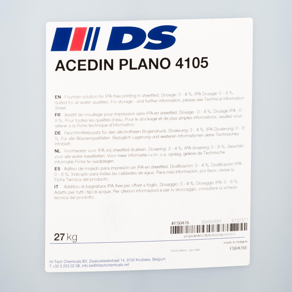 ACEDIN PLANO 4105 27 kg