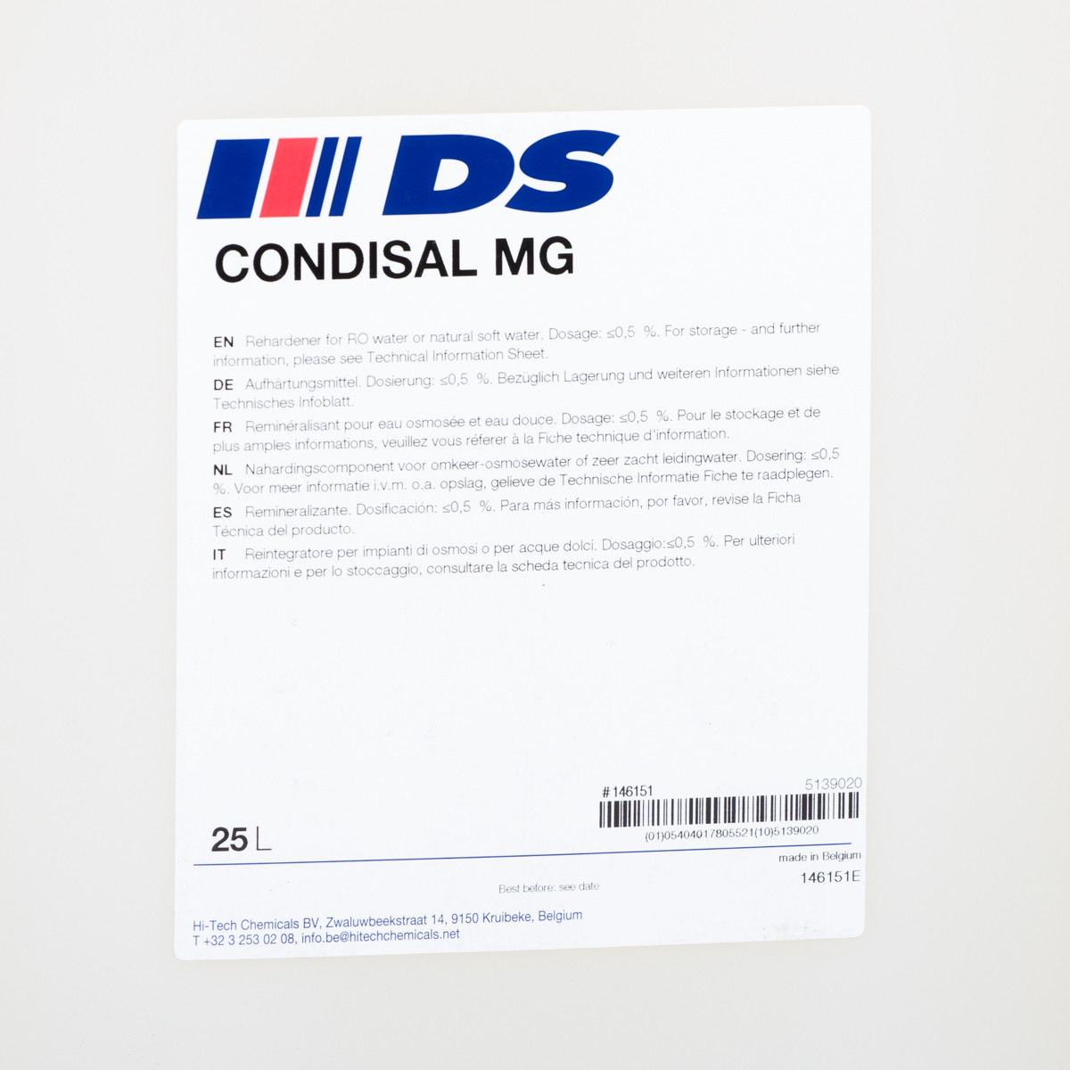 CONDISAL MG   25L