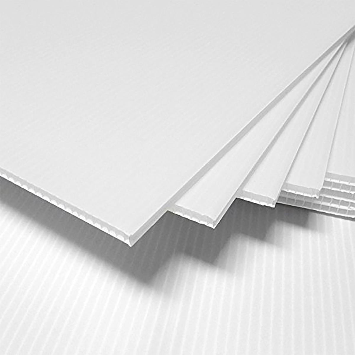 PP saćasta ploča bela 3 mm / 500 gr - 1220x2440mm