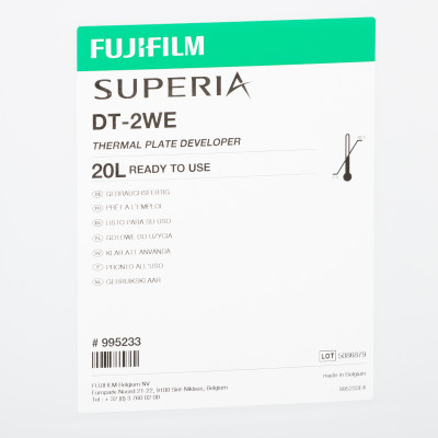 FUJI DT-2WE DEVELOPER RTU 20 lit